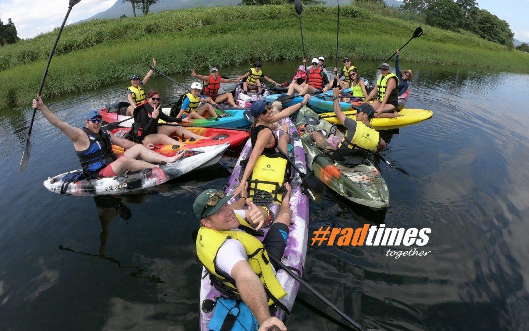 #radtimes with Babinda Kayaking