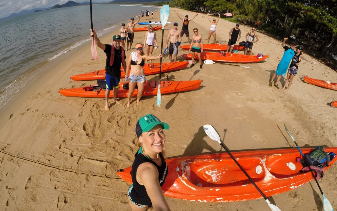 #radtimes kayaking from Palm Cove to Double Island