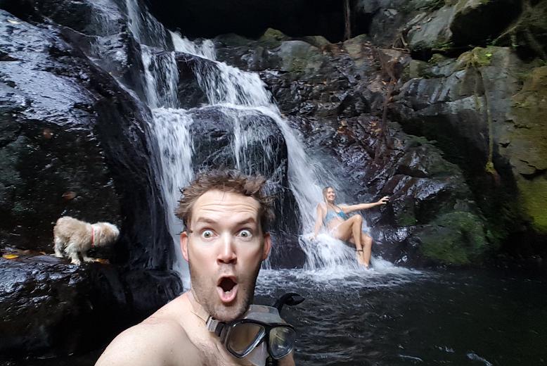 #radtimes hiking up to Stoney Creek Falls