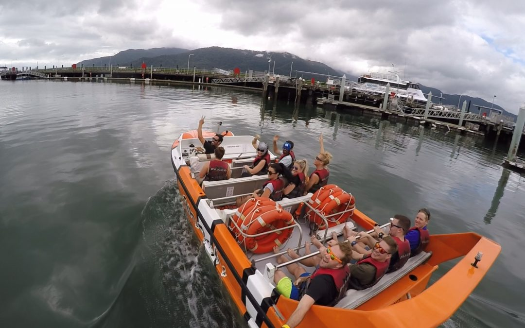 #radtimes Jet Boating with Bad Fishy, Cairns