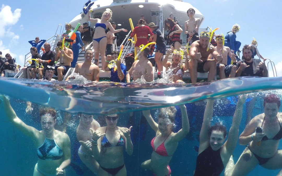 #radtimes on the Great Barrier Reef aboard Evolution