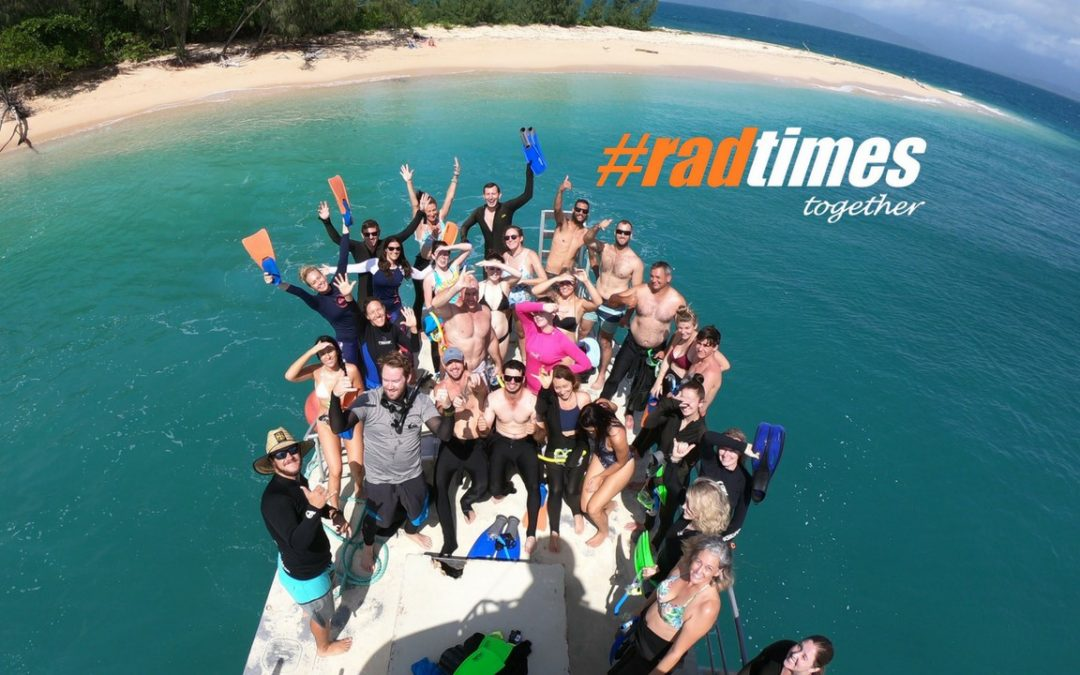 #radtimes at the Frankland Islands – Take 2!