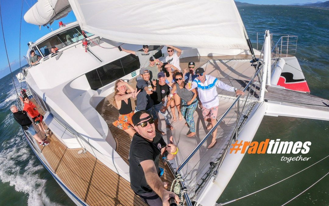 #radtimes sailing with Passions of Paradise